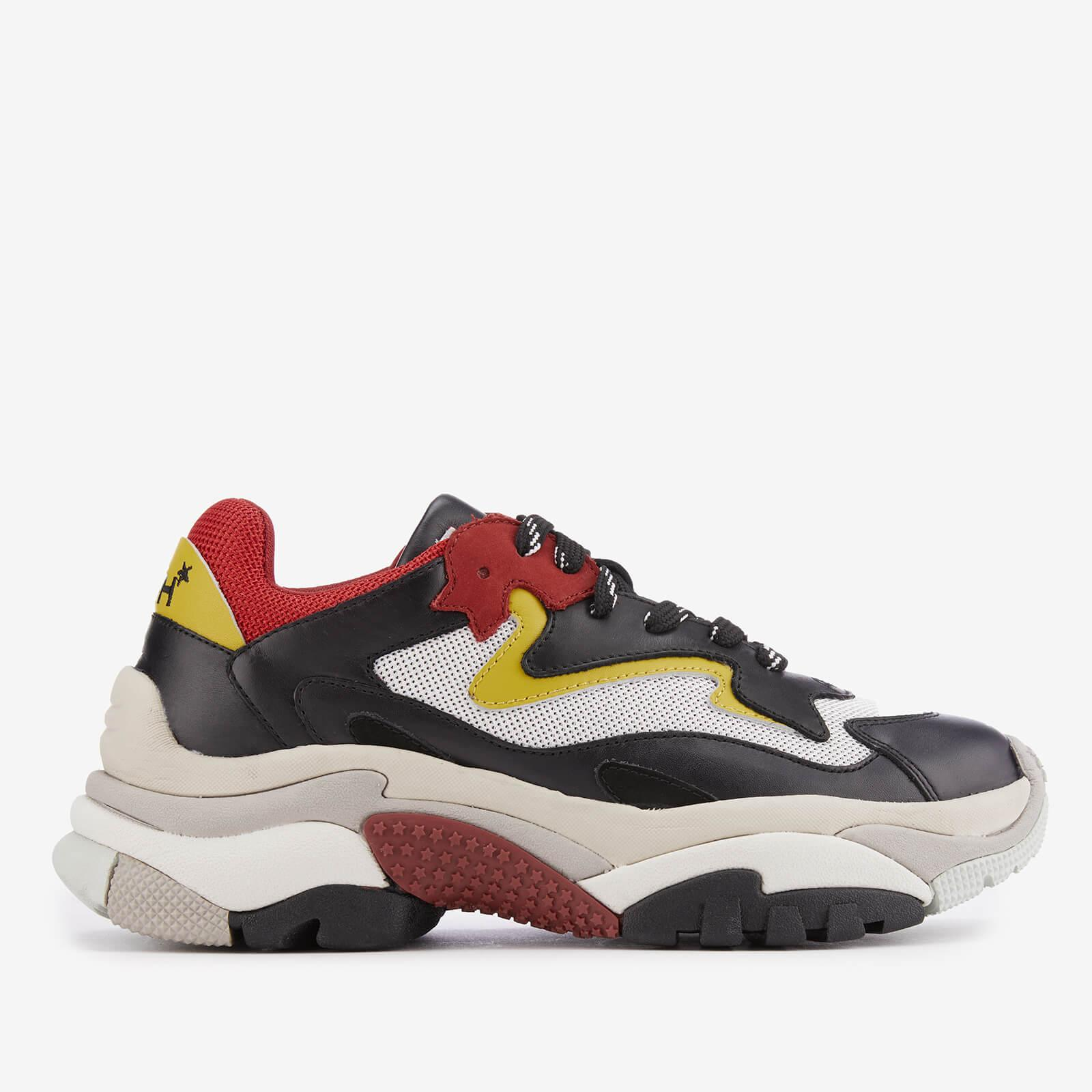 Ash Chunky Sole Sneakers in Red White