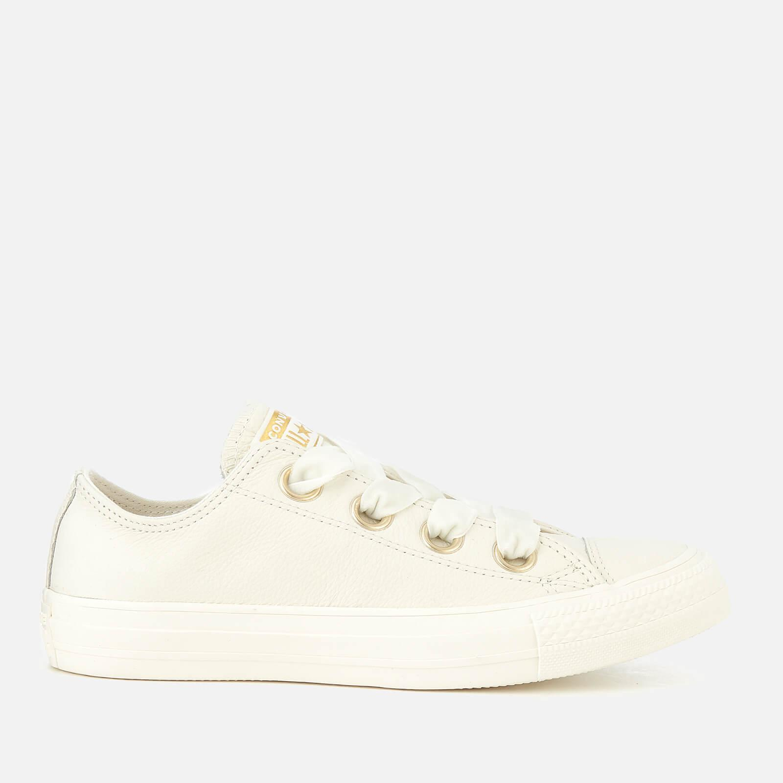 Converse White Chuck Taylor All Star Big Eyelets Ox Trainers