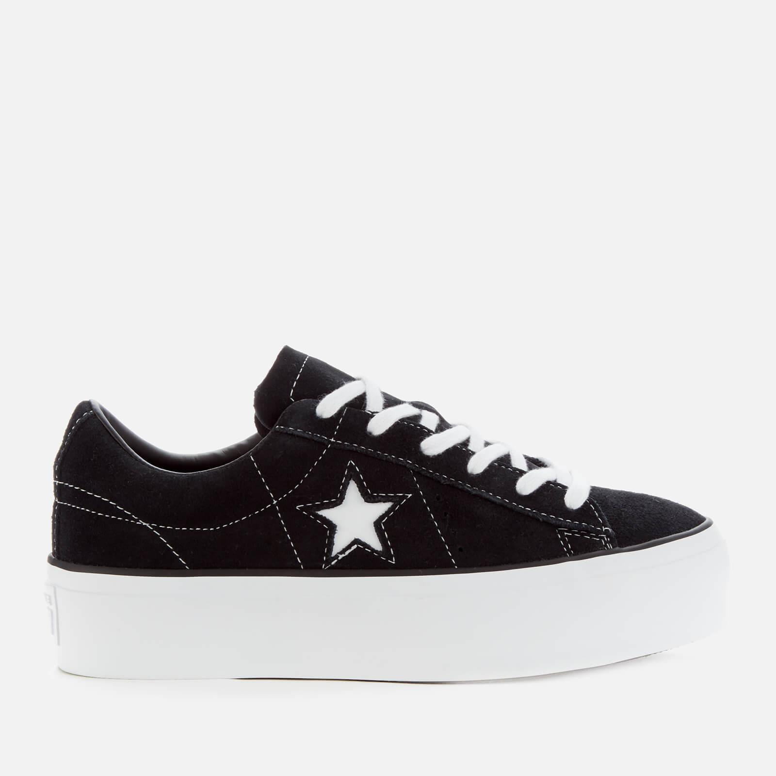 one star platform white
