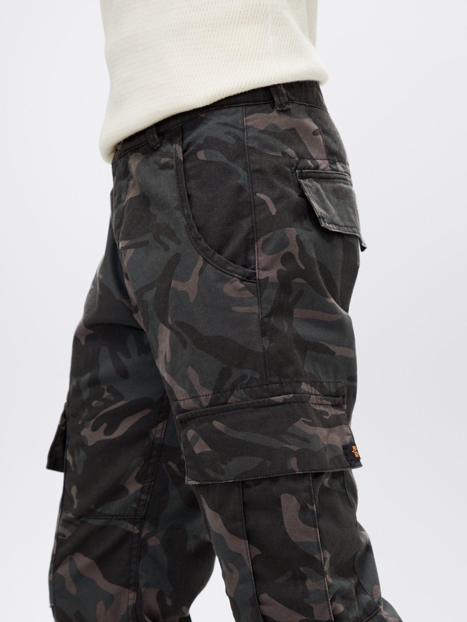 Hose Black Camo Alpha Industries Agent C Pant Shorts