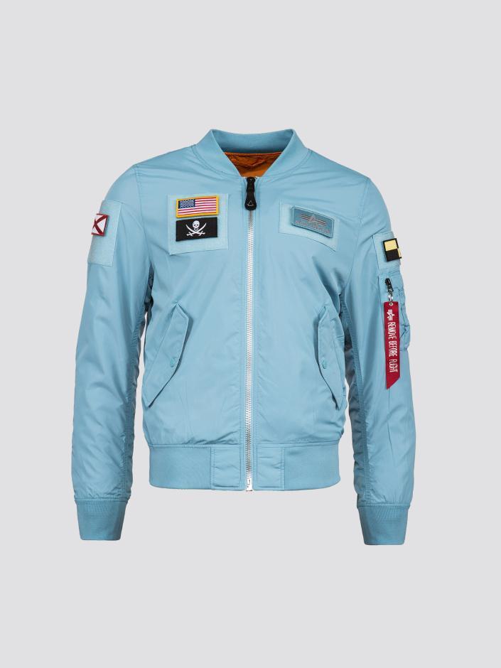 2774bfd2fd0 Lyst - Alpha Industries L-2b Flex Flight Jacket in Blue for Men