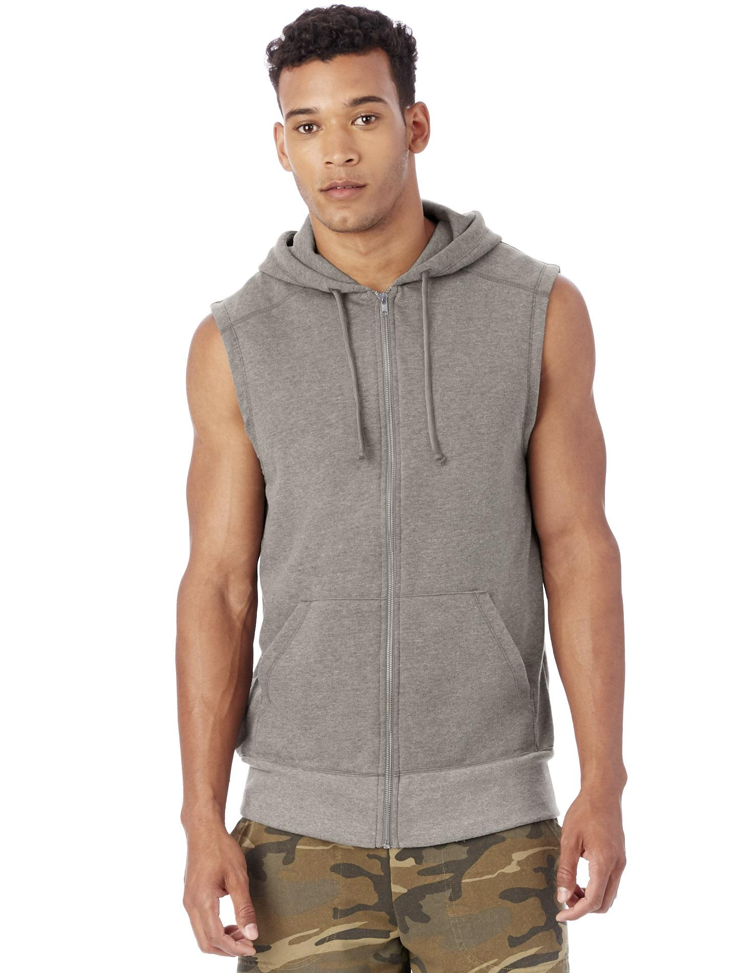 alternative apparel warm up vintage terry hoodie