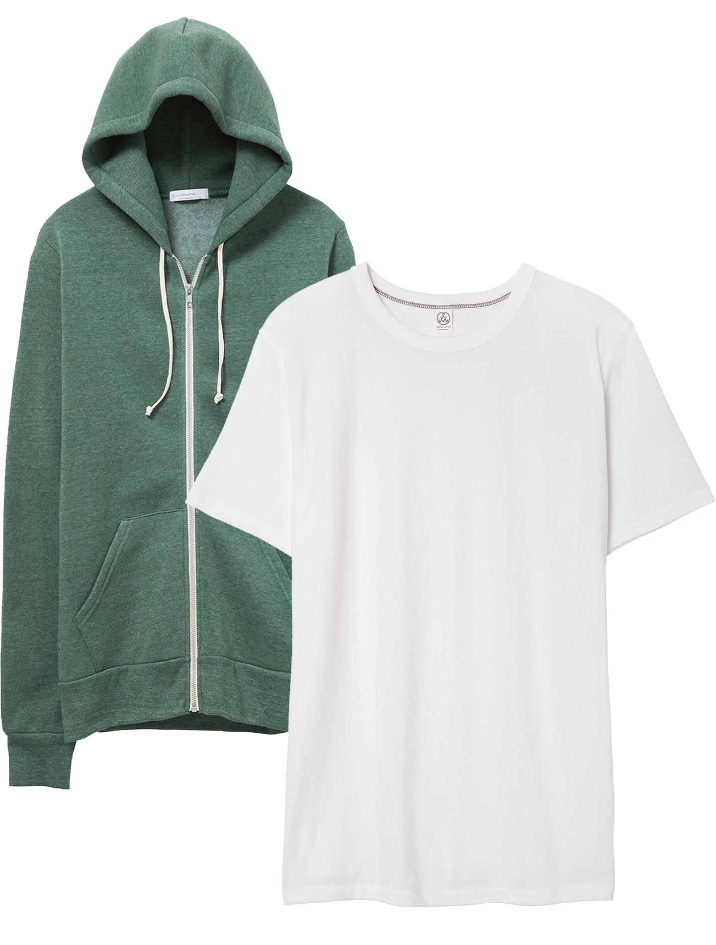 051962f8441 Lyst alternative apparel rocky eco fleece zip hoodie keeper jpg 1440x1900  Rocky apparel