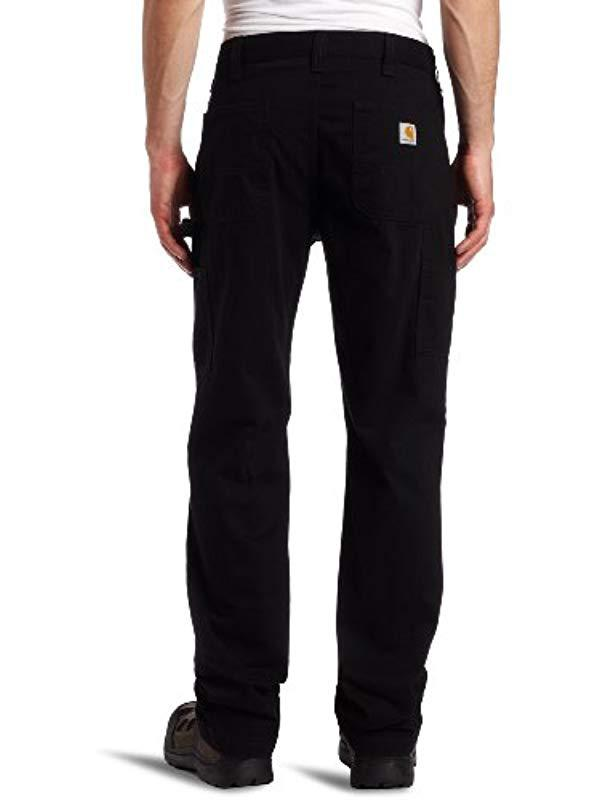 db255f8a5c4 Lyst - Carhartt Relaxed-fit Washed Twill Dungaree Pant in Black for Men