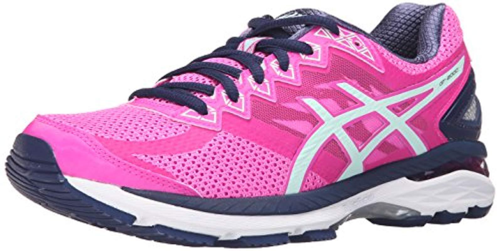7bedf7e92e439 Lyst - Asics Gt-2000 4 Running Shoe in Pink - Save 34%
