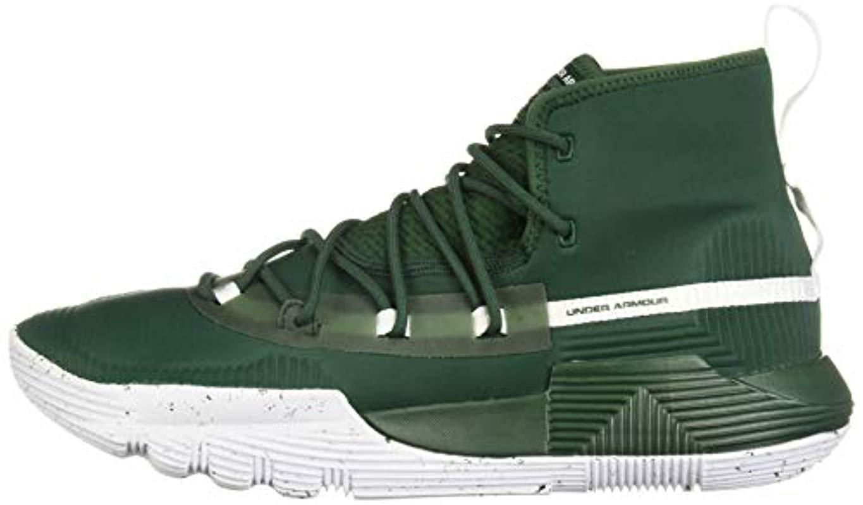 25e24eee64432 Men's Green Sc 3zer0 Ii Basketball Shoe