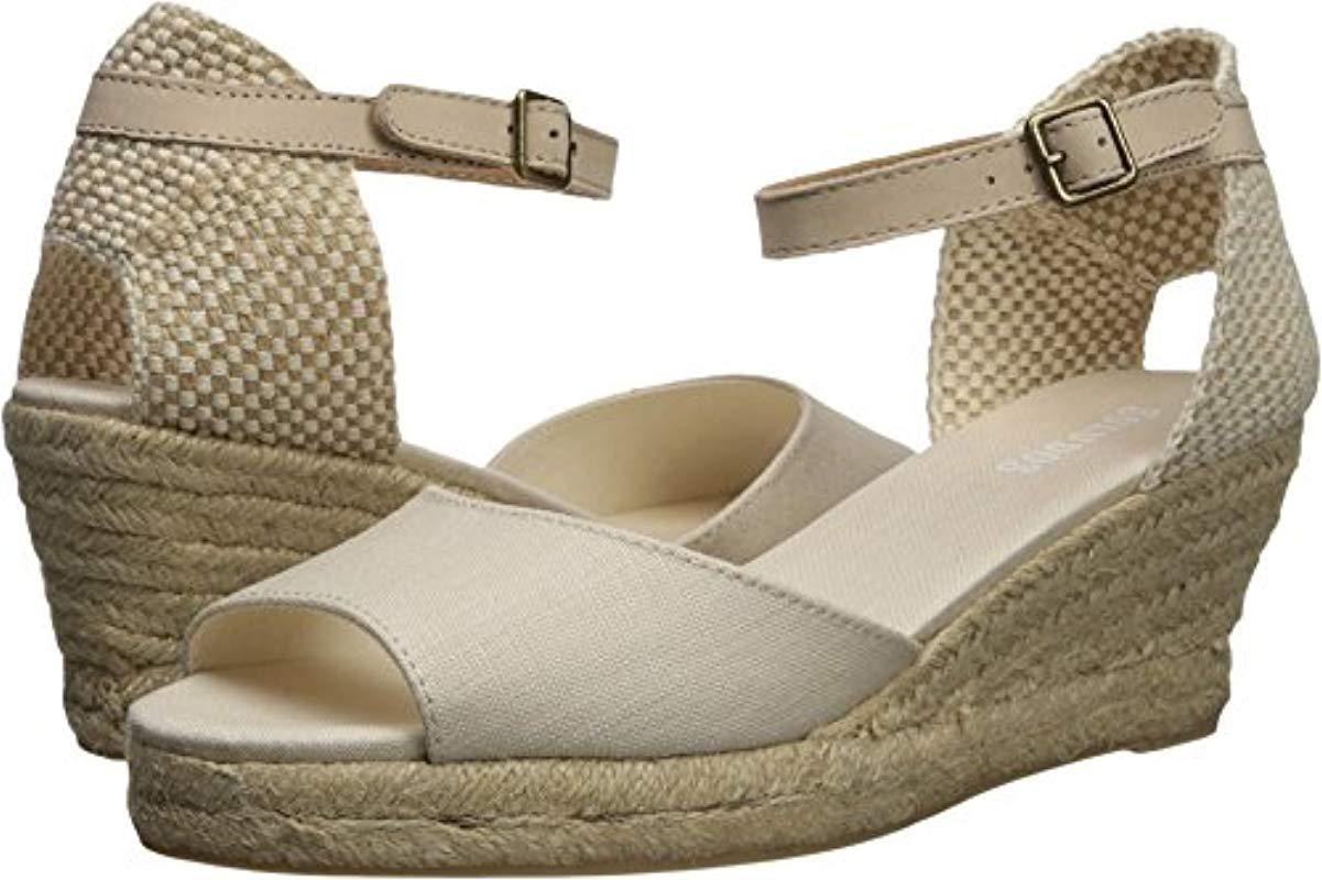 d244809d0e7 Lyst - Soludos Open-toe Midwedge (70mm) Espadrille Wedge Sandal ...