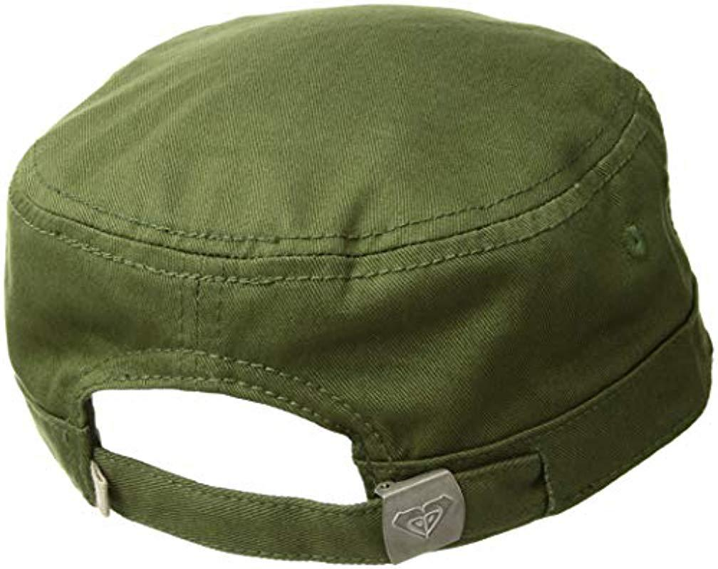 b75713ec1300bf Lyst - Roxy Castro Hat in Green - Save 17%