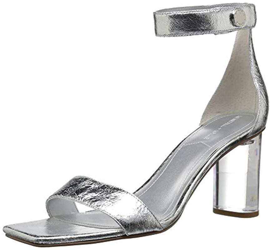 35b780620c1 Lyst - Kendall + Kylie Lexx Heeled Sandal in Metallic - Save 2%