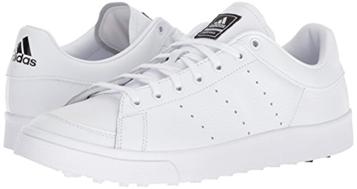 Gracias Deliberadamente arrepentirse  adidas Leather Adicross Classic Golf Shoes in White for Men - Save 50% -  Lyst