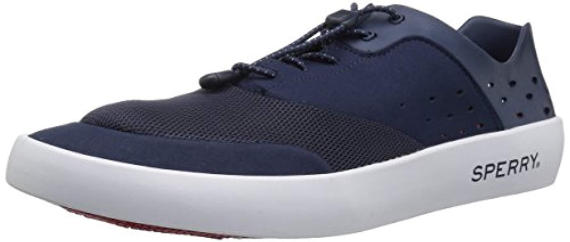 9f6c659a57d4 Lyst - Sperry Top-Sider Flex Deck Cvo Ultralite Sneaker in Blue for ...