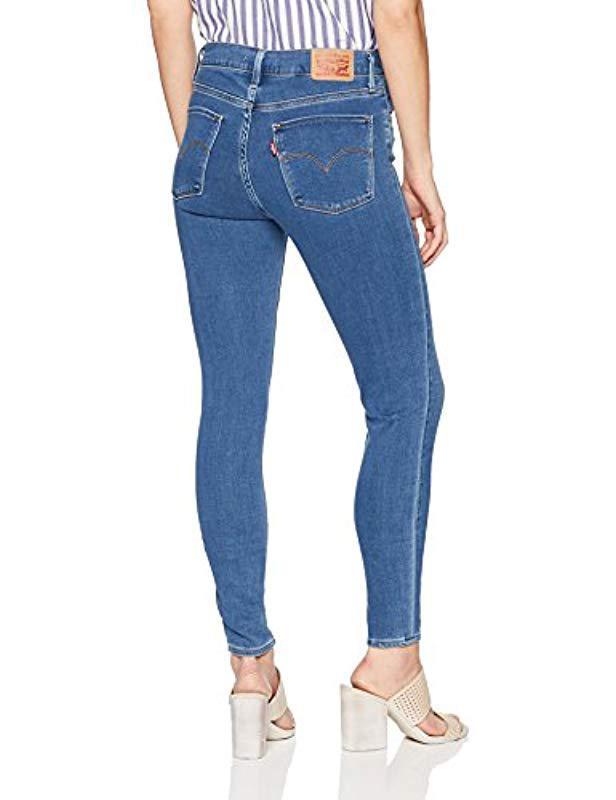 a5e872b0cfa Levi s 720 High Rise Super Skinny Jeans in Blue - Lyst