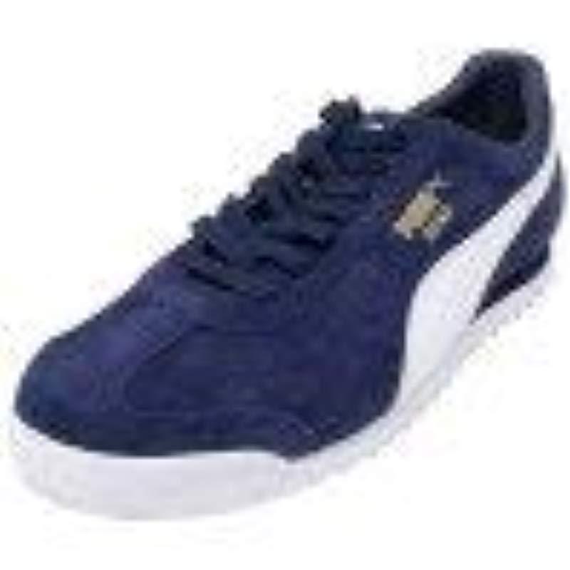 PUMA Roma Suede Fashion Sneaker in Blue