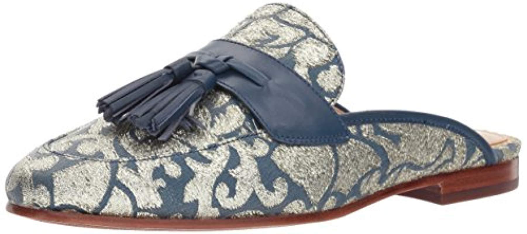 9c3dc94493c2c Lyst - Sam Edelman Paris Slip-on Loafer in Blue - Save 34%