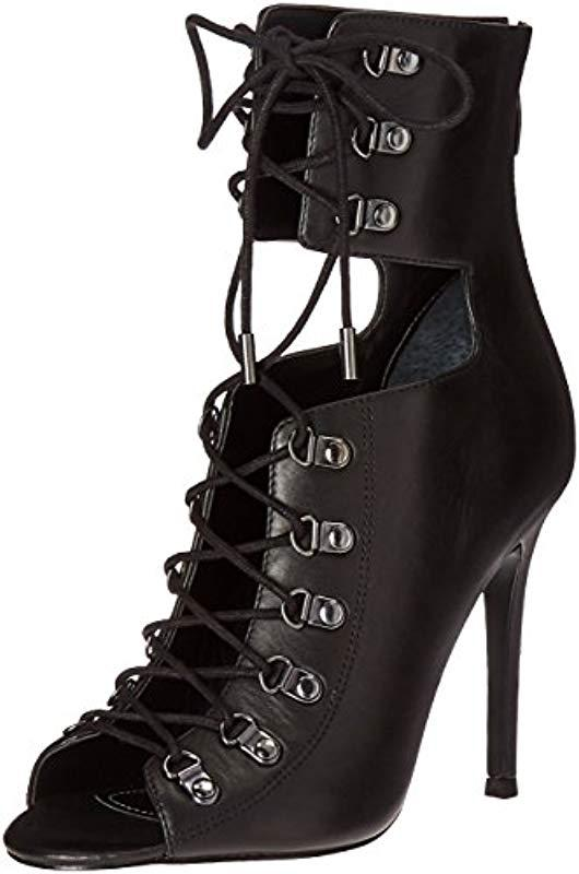 637a29c1be6af1 Lyst - Kendall + Kylie Gwen Ankle Bootie in Black - Save 73%
