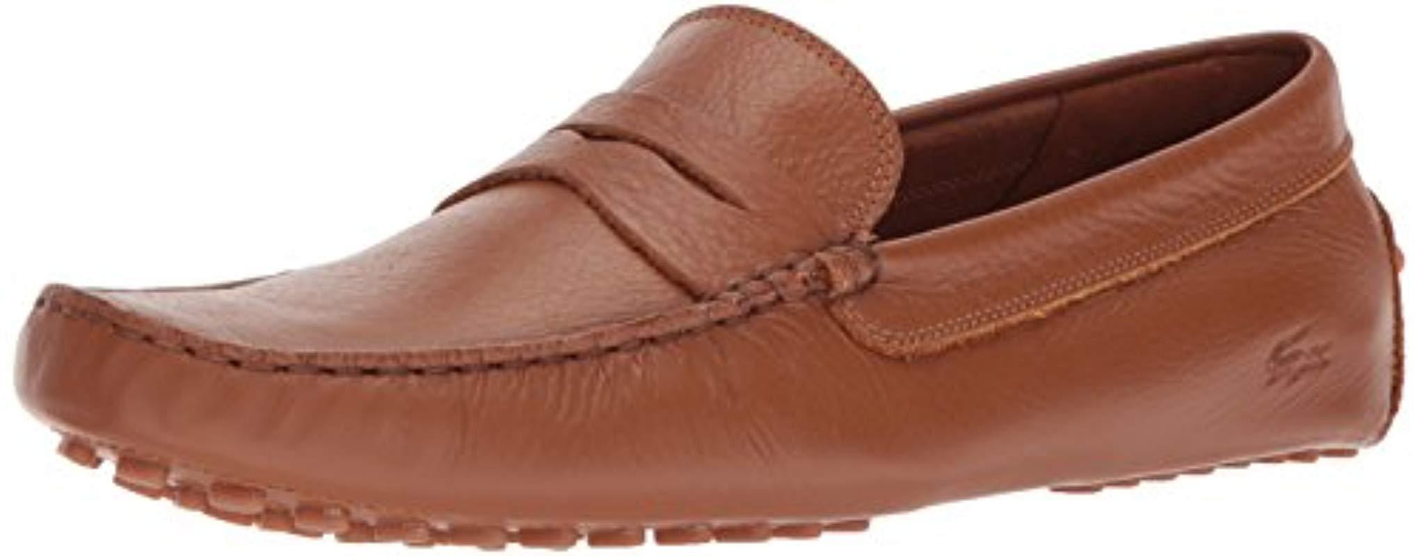 303215e6a3bd Lyst - Lacoste Concours 118 1 P (tan) Men s Shoes in Brown for Men ...