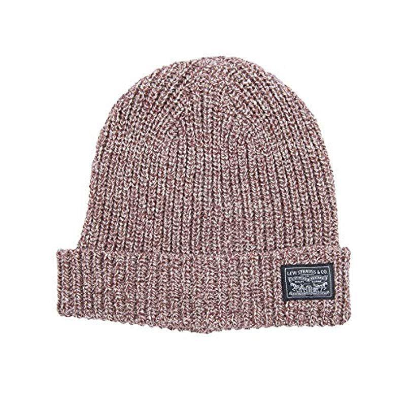 1ea51aa4a64bfc Lyst - Levi's Warm Winter Knit Skullie Beanie for Men