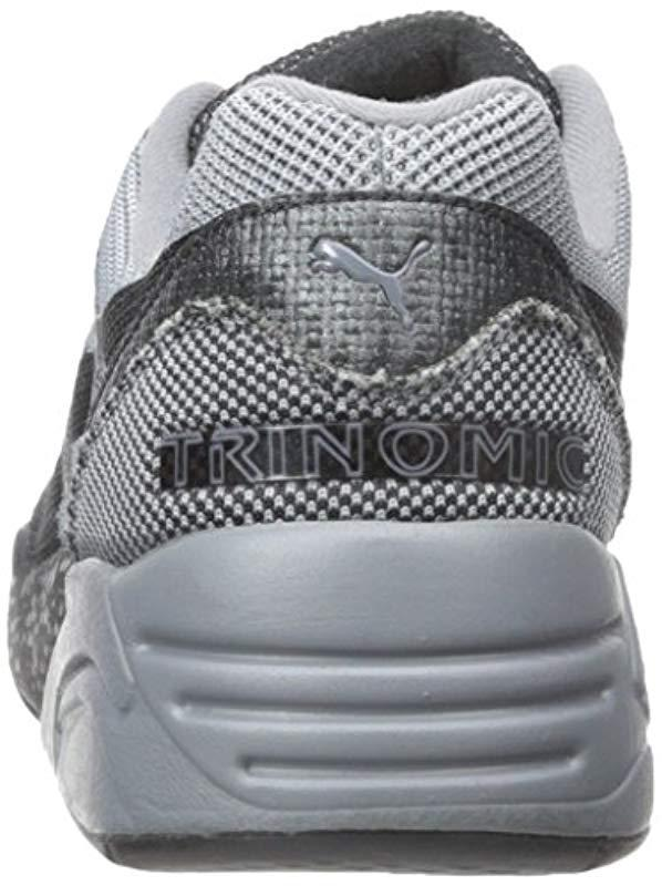 22bc3b696204a Lyst - PUMA R698 Knit Mesh Splatter Fashion Sneaker in Gray for Men