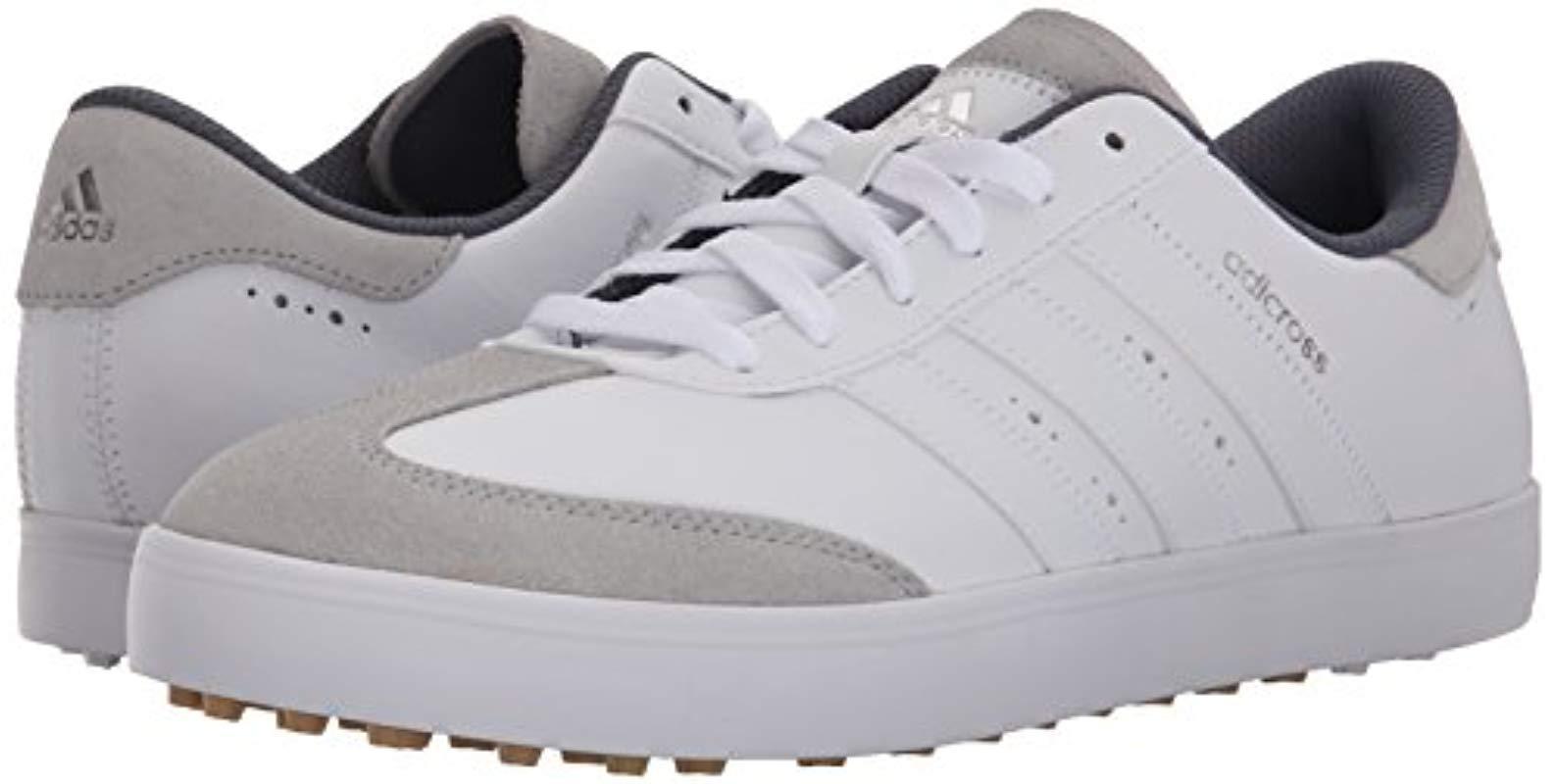 Golf Spikeless Shoe in White for Men - Lyst