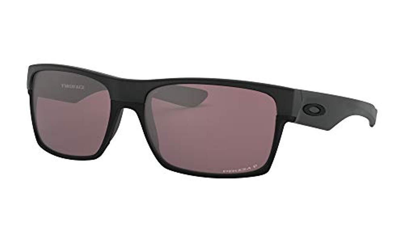 1ee8618e9c Lyst - Oakley Twoface Oo9189-26 Polarized Rectangular Sunglasses in ...