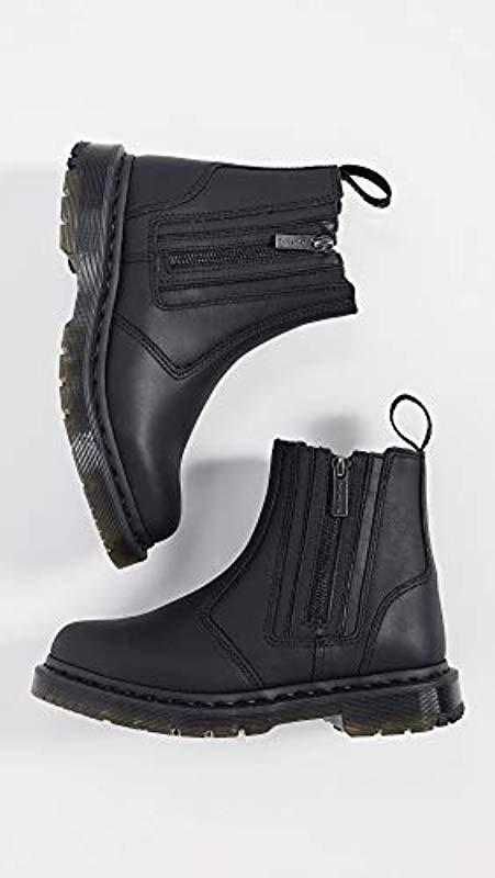 Martens Womens 2976 Alyson W//Zips Snow Boot Dr