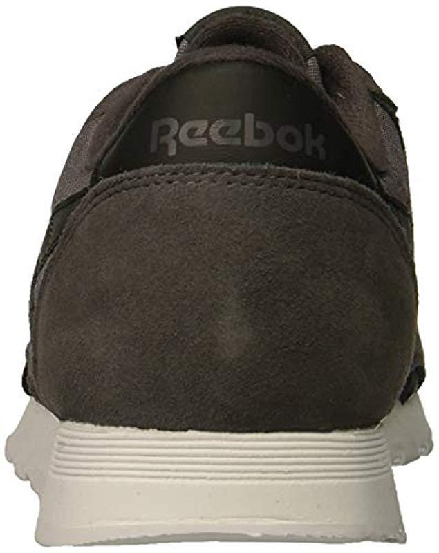 57e606810 Lyst - Reebok Classic Nylon Sneaker in Black for Men