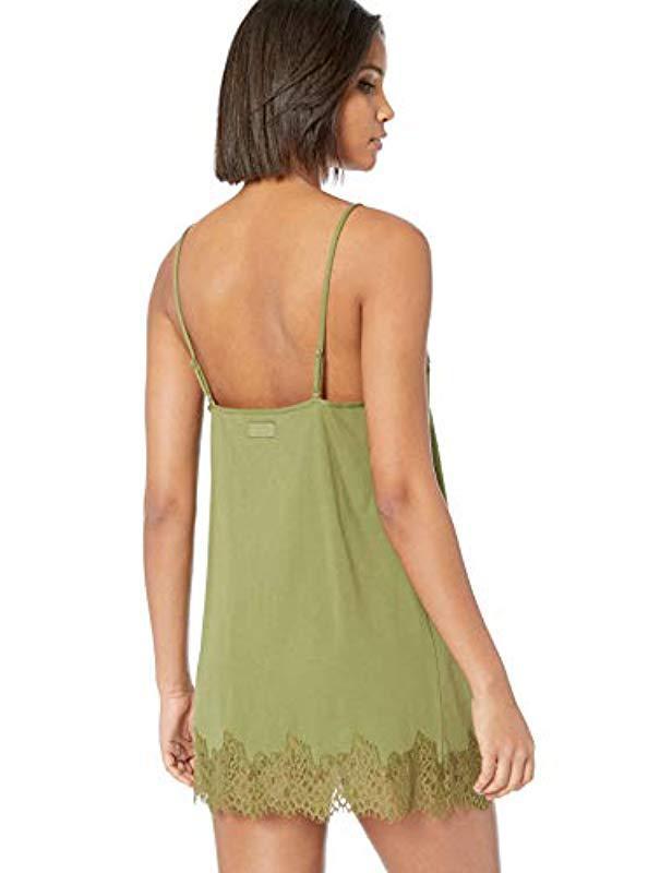1d3eaf600901 PUMA - Green Fenty Lace Trim Sleepwear Teddy - Lyst. View fullscreen