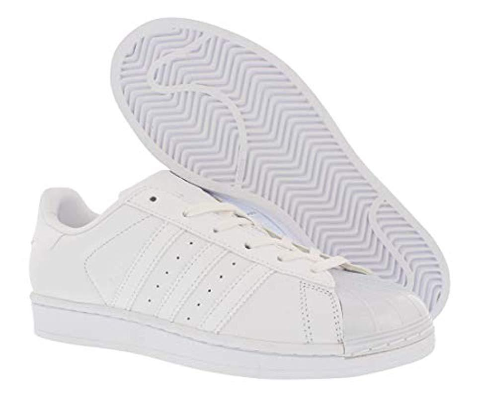 san francisco bd554 0d44a Adidas Originals - White Superstar Glossy Toe W Fashion Sneaker - Lyst.  View fullscreen