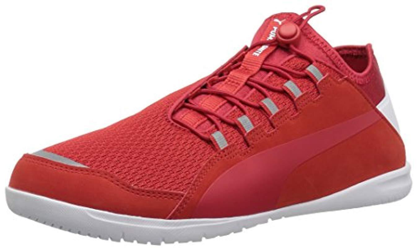 7960fb31e4d4ec Lyst - PUMA Ferrari F Cat Ignite Sneaker in Red for Men