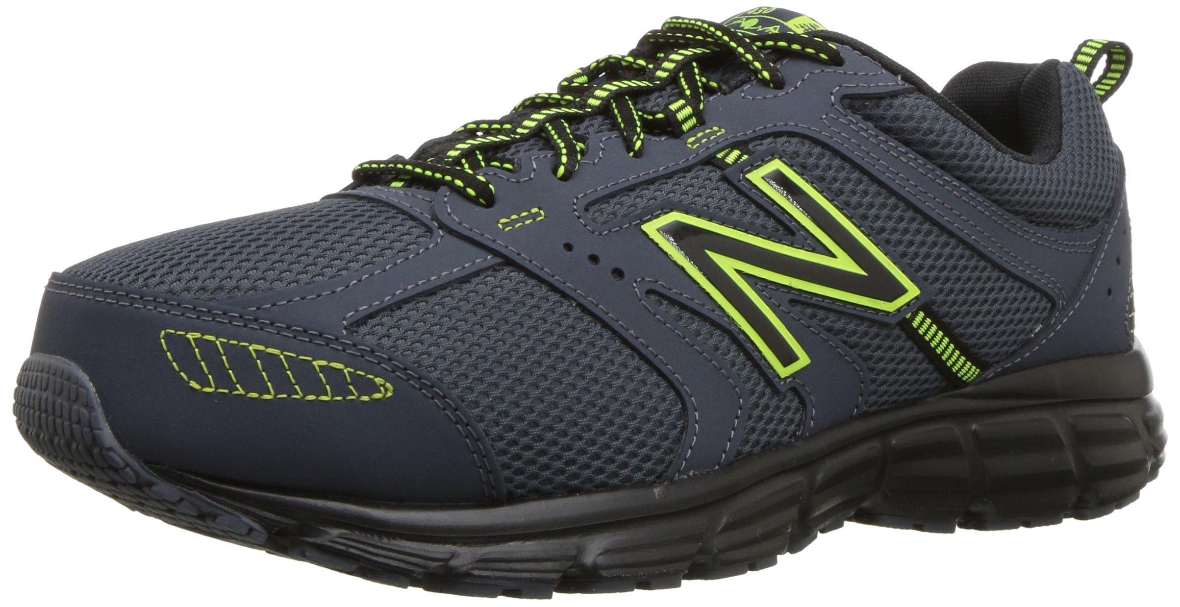 New Balance Rubber 430 V1 Running Shoe in Black for Men - Lyst