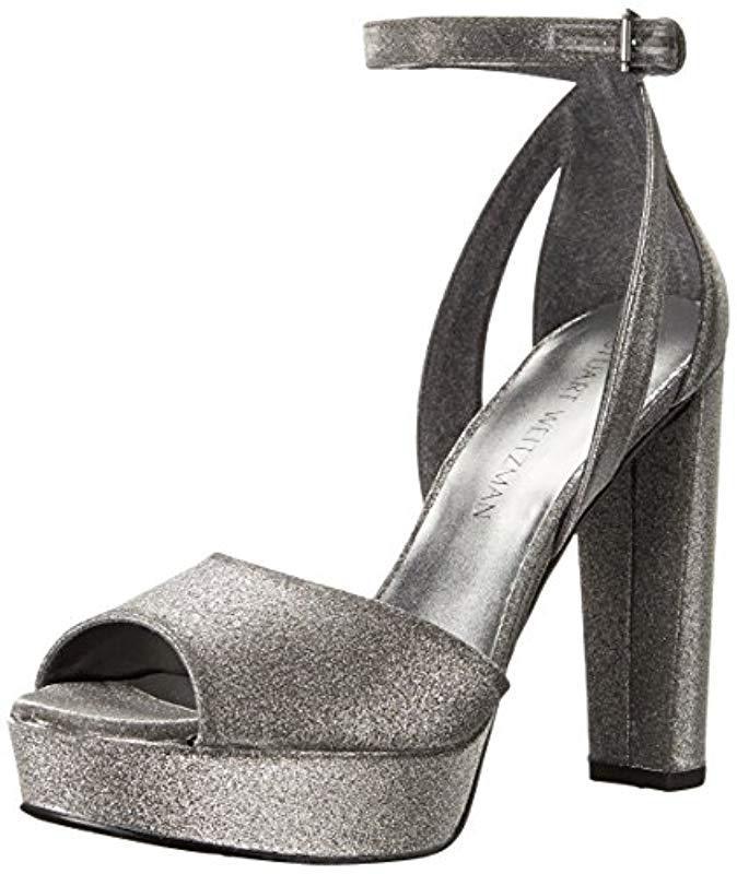 b9473361a5c Lyst - Stuart Weitzman Hijinx Platform Sandal - Save 54.22680412371134%