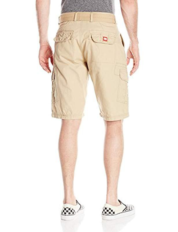 fea8122c Lyst - Ecko' Unltd Gripper Ripstop Cargo Short in Natural for Men