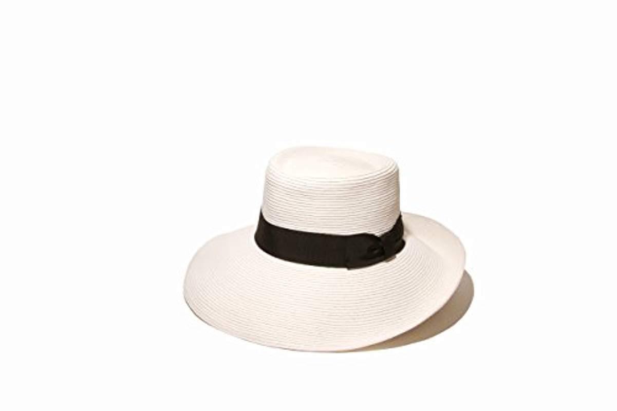 434fc23035f Gottex. Women s White San Santana Packable Sun Hat ...