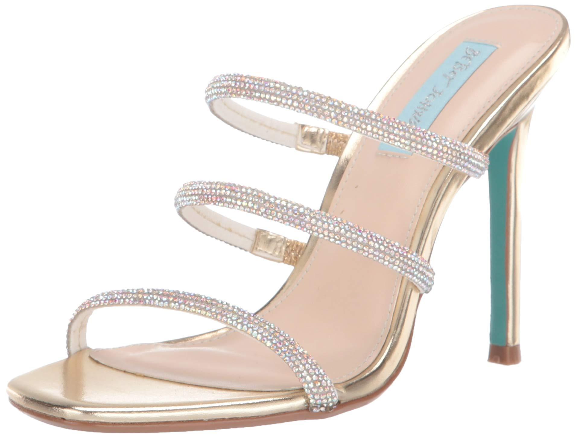 Blue by Betsey Johnson Womens SB-Mel Heeled Sandal