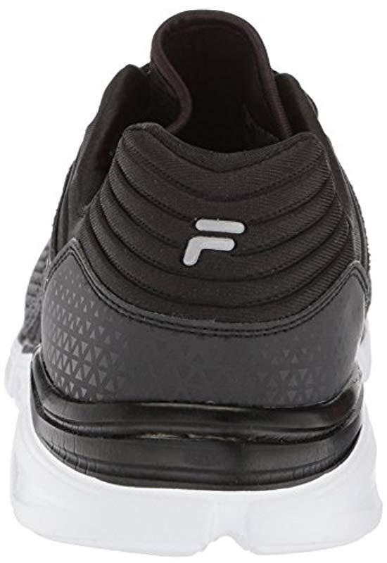 530898fb3f7f Fila - Black Memory Multiswift 2 Running Shoe for Men - Lyst. View  fullscreen