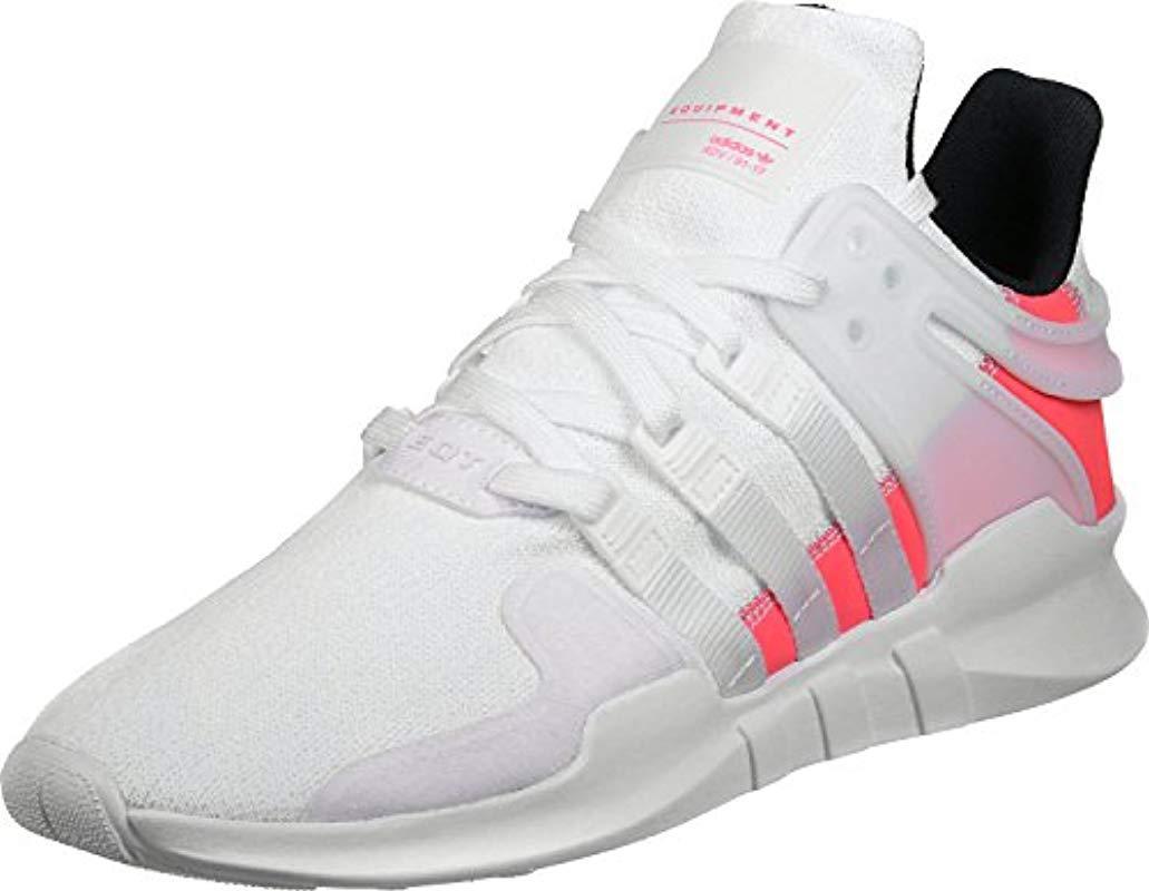 online store 75a46 6529f Adidas Originals White Adidas Eqt Support Adv Fashion Sneaker for men