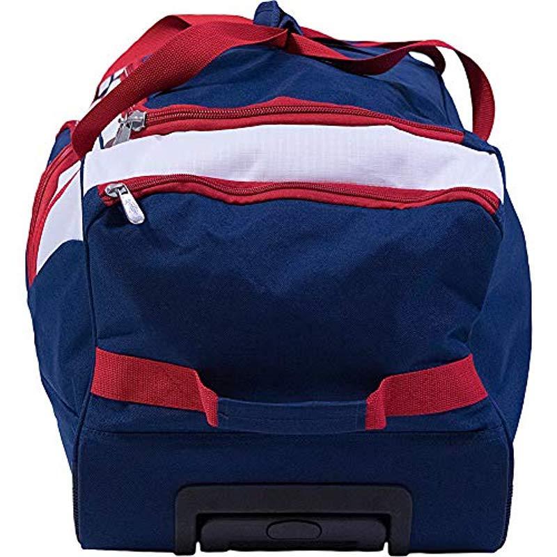 U.S. POLO ASSN. - Black 36in Rolling Duffel Bag Duffel Bag for Men - Lyst.  View fullscreen deb99a3ffe761