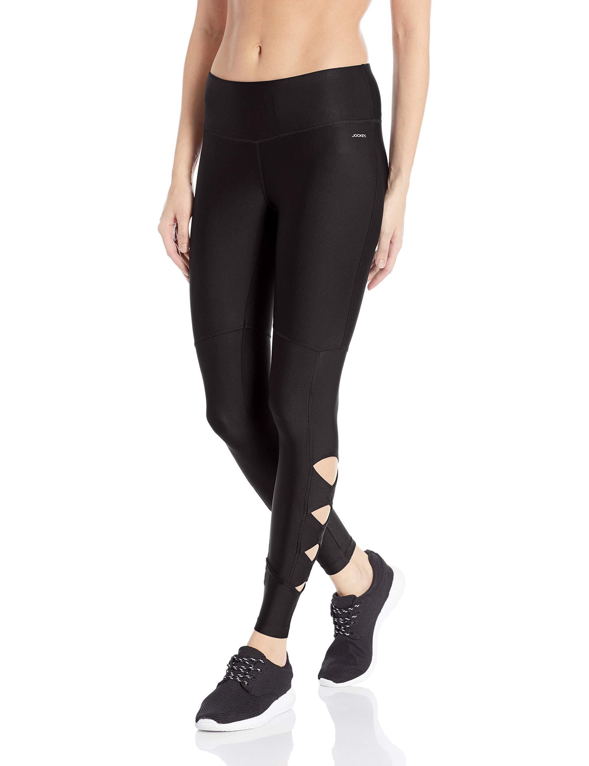 Jockey Womens Activewear Mesh Ankle Legging