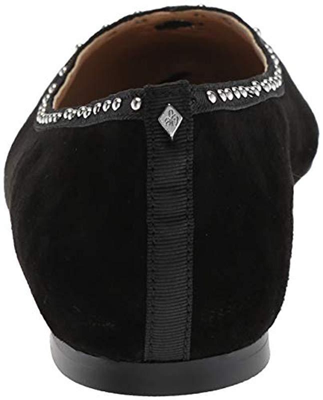 5ba9693f05f9e2 Lyst - Sam Edelman Rini Ballet Flat in Black