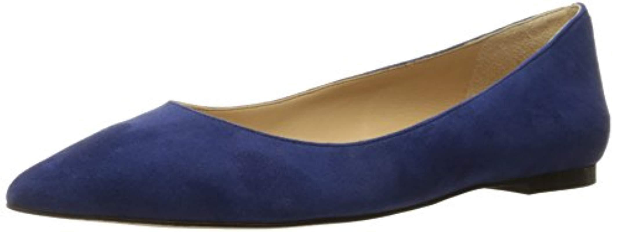 a83014912725 Lyst - Sam Edelman Rae Pointed Toe Flat in Blue - Save ...