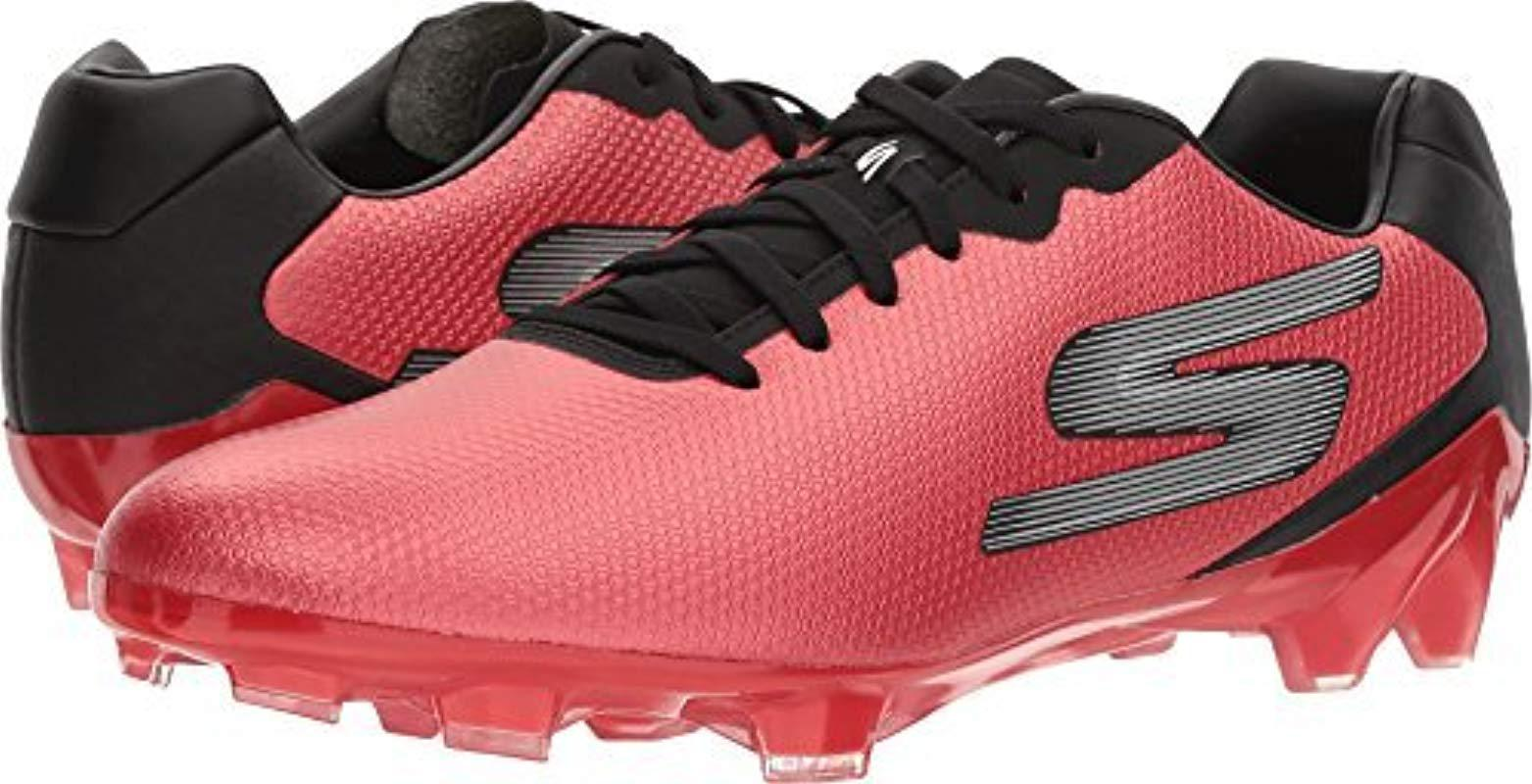 ef832055c960 Skechers Performance Go Galaxy Fg Soccer Cleat Shoe in Red for Men ...