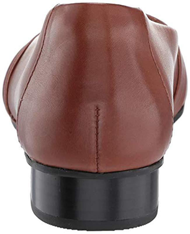 33364f7bdc0 Lyst - Clarks Juliet Petra Flats in Brown - Save 24%