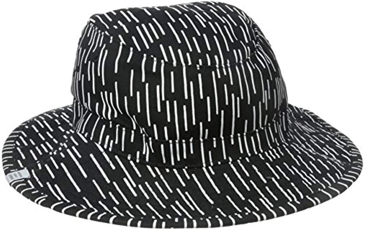 ab99bcf3a6e Lyst - Herschel Supply Co. Creek Bucket Hat in Black for Men - Save 39%