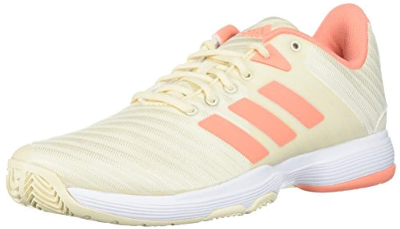 c015925de79 Lyst - adidas Barricade Court Tennis Shoe in White