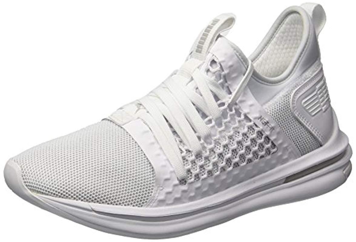 3670cae1b6 Lyst - PUMA Ignite Limitless Sr Netfit Sneaker in White for Men ...