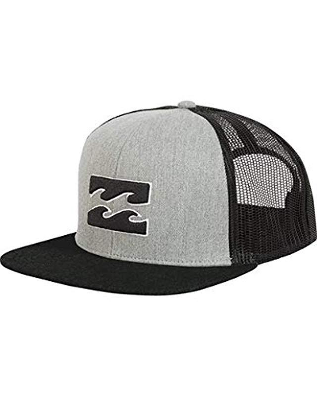 00a5e88ff6937 Lyst - Billabong All Day Cap in Gray for Men - Save 54.166666666666664%