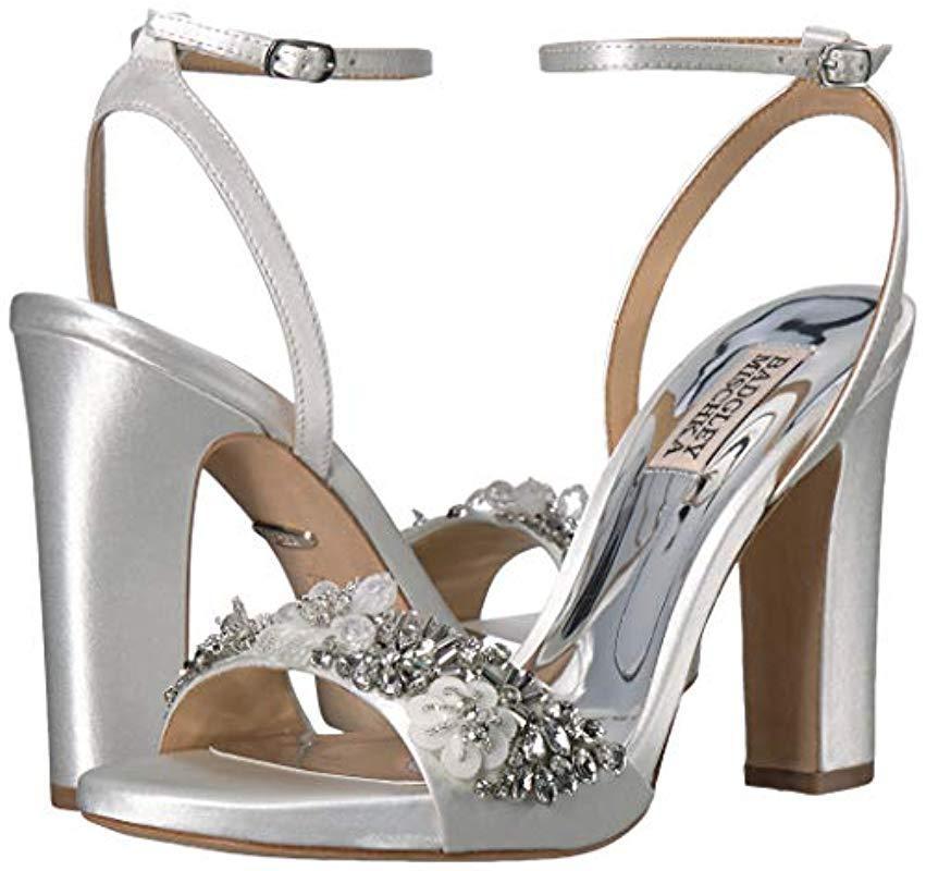 Badgley Mischka Womens Alexa Heeled Sandal