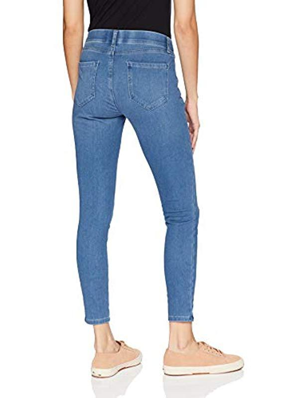 5f43bcf0e Lyst - Amazon Essentials Skinny Stretch Pull-on Knit Jegging in Blue