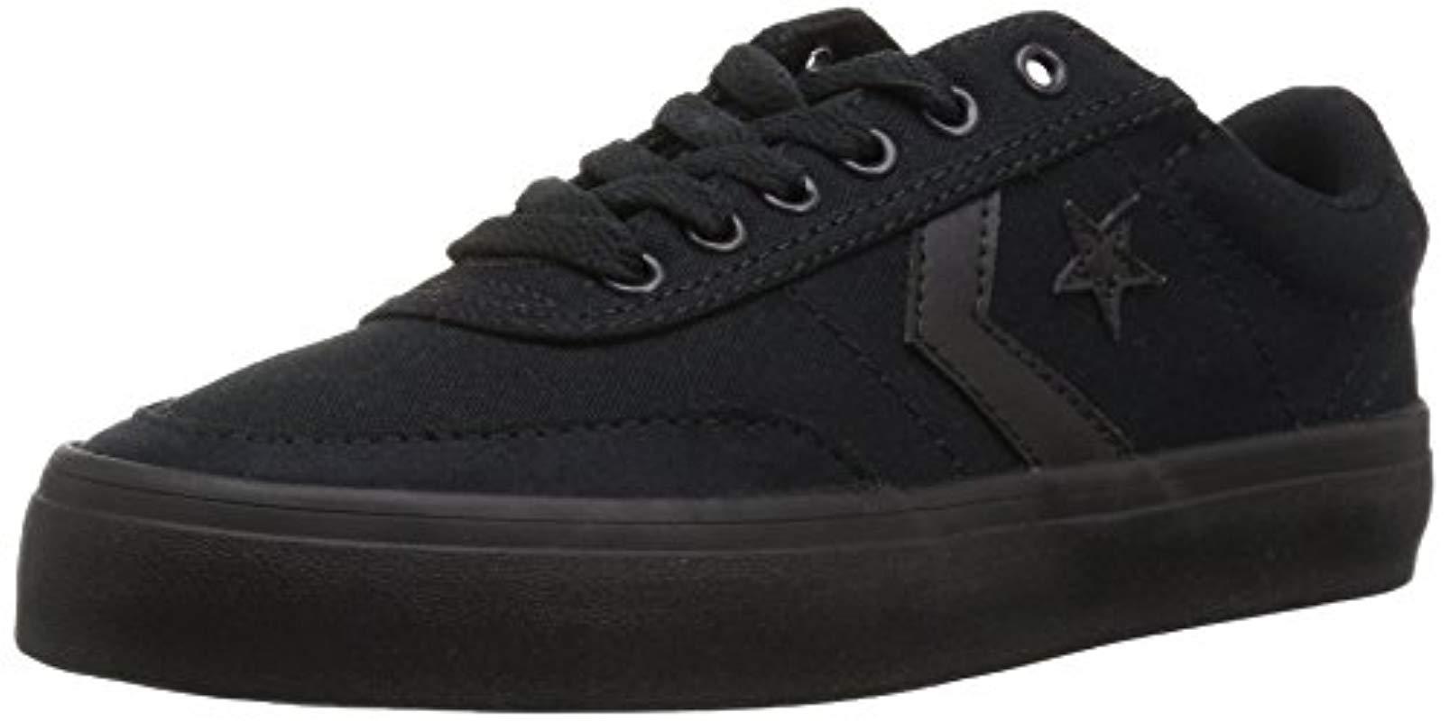 Courtlandt Low Top Sneaker in Black