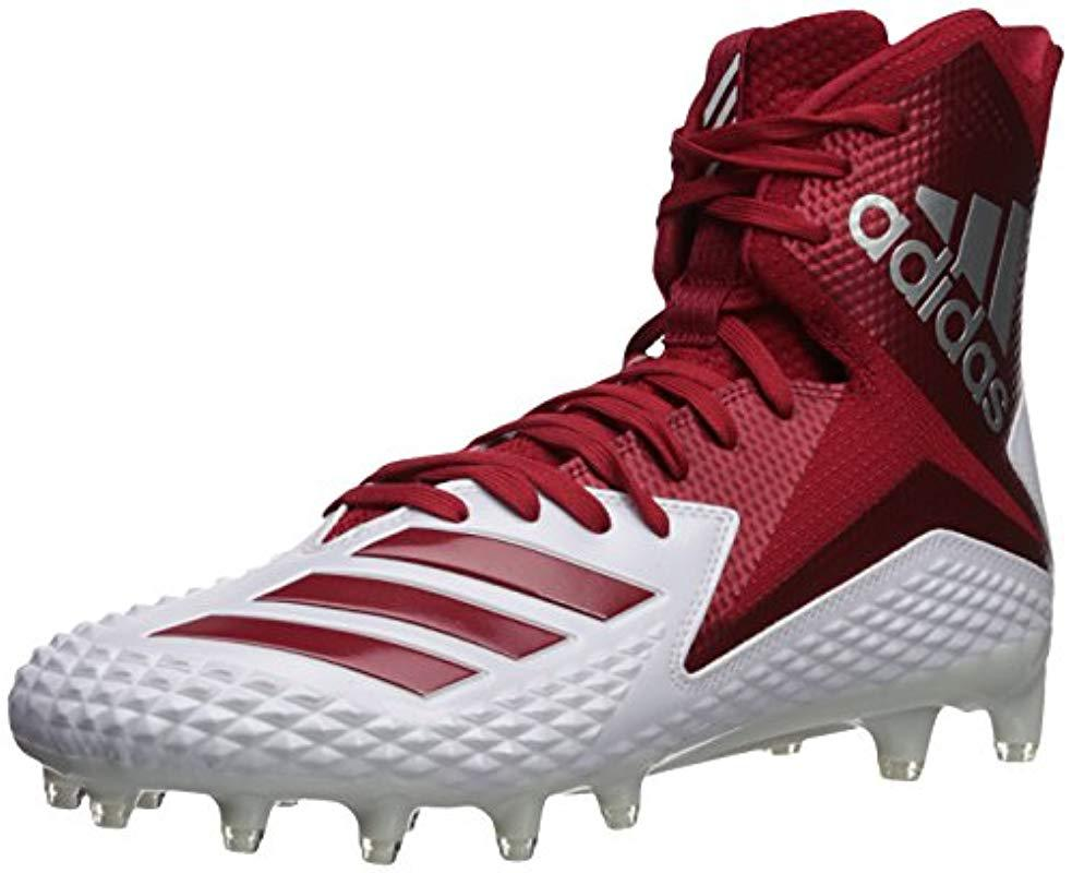 d1b2f1fde7b Lyst - adidas Freak X Carbon Mid Football Shoe in Red for Men